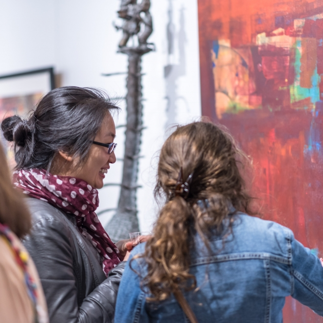 """Art Village Gallery Kicks Off Series of Spring Events Catering to the """"Art Curious"""""""