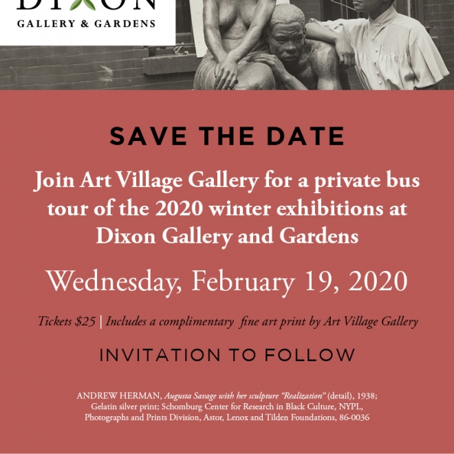 AVG Private Bus Tour to the Dixon Gallery & Gardens