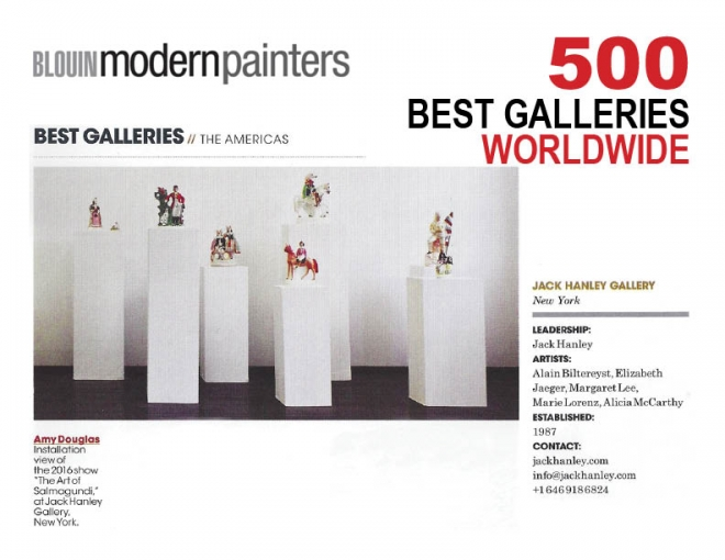 Blouin Modern Painters Magazine's 500 Best Galleries Worldwide