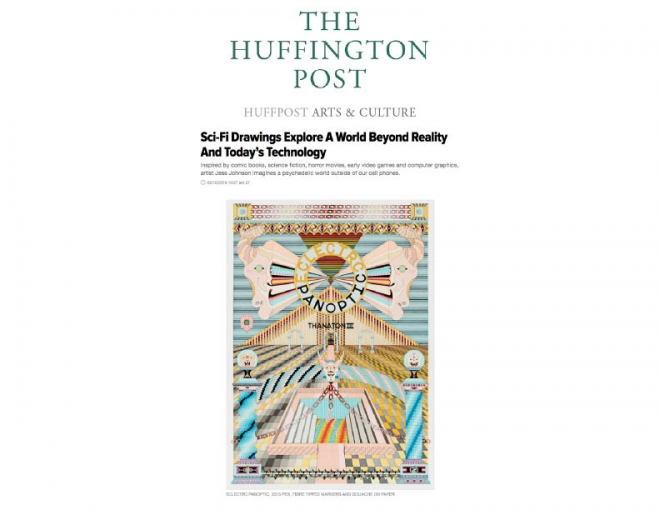 Jess Johnson of 'Future Nature' in The Huffington Post