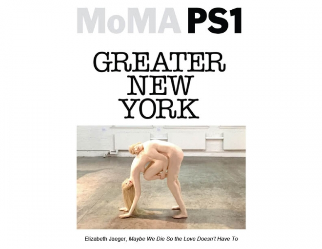 Elizabeth Jaeger in MoMA PS1's Greater New York