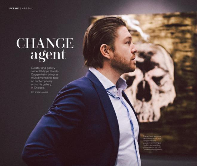 GOTHAM MAGAZINE: CHANGE AGENT