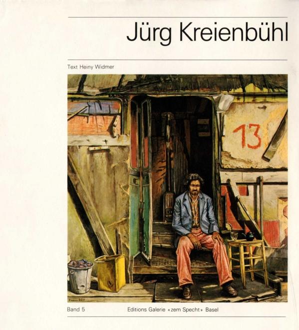 Jürg Kreienbühl galerie zem Specht 1982
