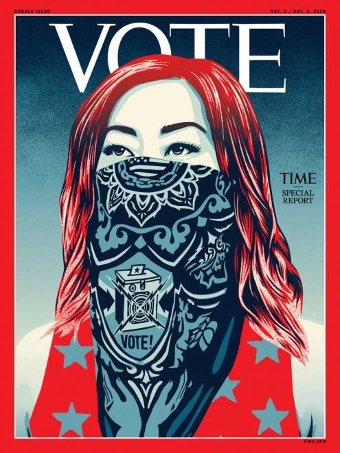 TIME | Shepard Fairey VOTE