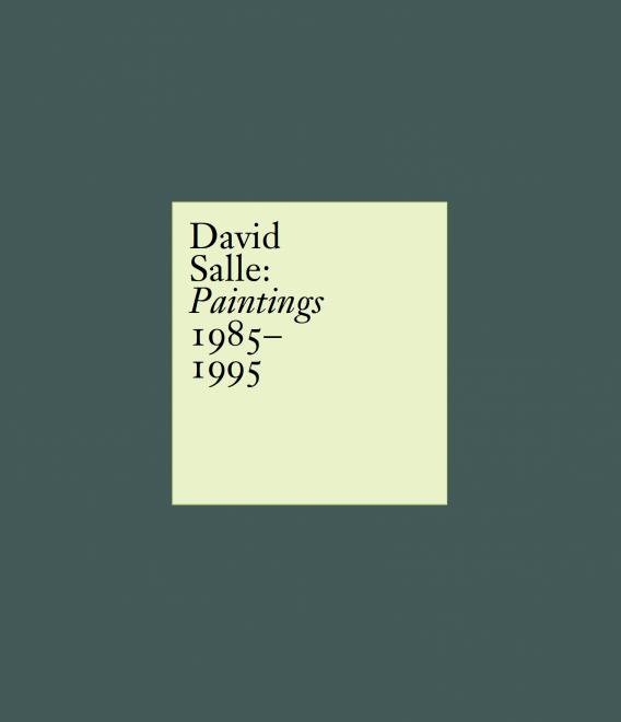 David Salle Skarstedt Publication Book Cover