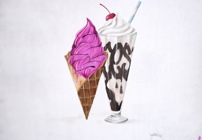 Art Production Fund & Fort Gansevoort present the 5th Art Sundae in collaboration with artist CES and the students of the Waterside Children's Studio School on Wednesday, June 19th.