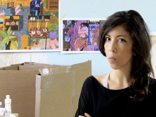 In Quarantine, an Artist Changes Course