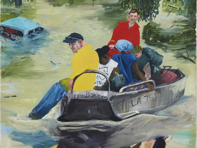 Do White Males Deserve Love?: The Paintings of Celeste Dupuy-Spencer at Marlborough Contemporary
