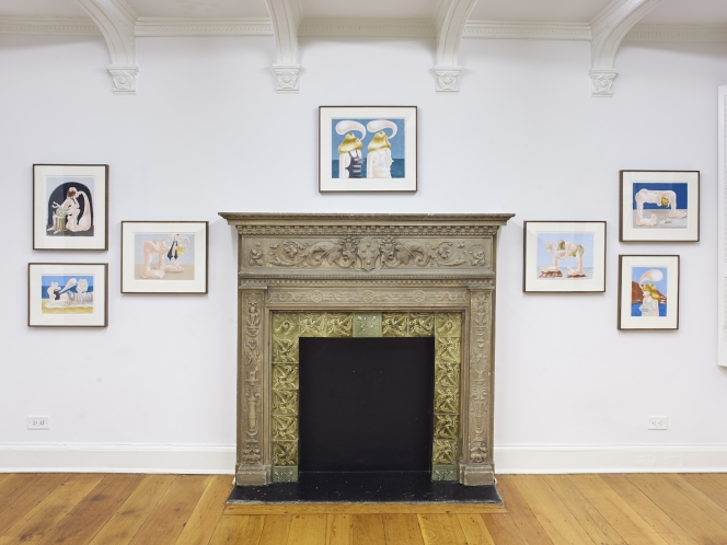 Louise Bonnet's 'Wakefield' at Half Gallery, New York
