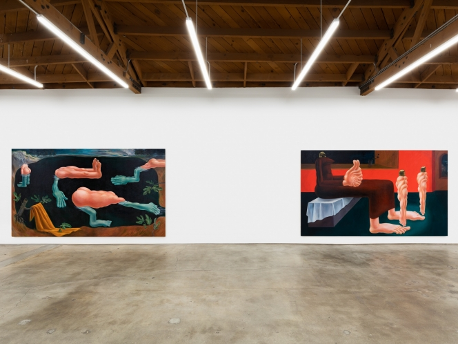 Louise Bonnet's Absurdist World of Grotesque Beauty at Nino Mier Gallery