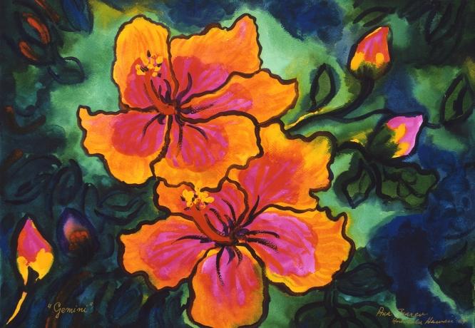 Hawaiian Watercolours