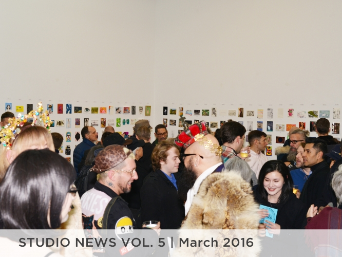 Studio News Vol. 5 March 2016