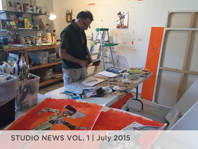 Studio News Vol. 1 July 2015