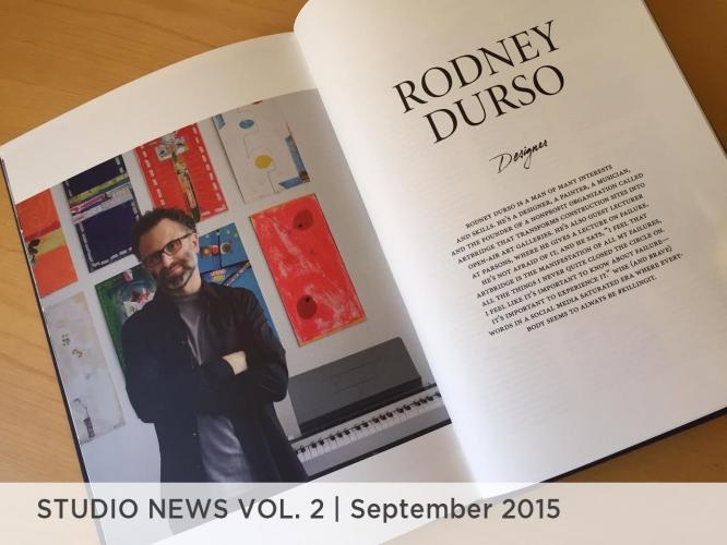 Studio News Vol. 2 September 2015