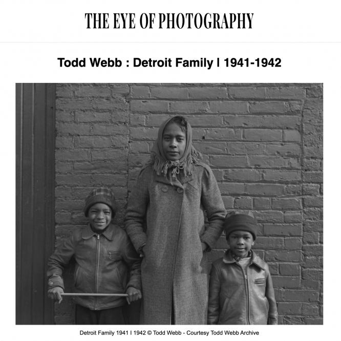 Detroit Family - 1941-1942