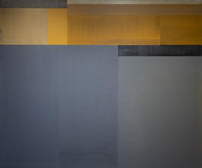 """19-XII-19, 2019 Acrylic on canvas, 60 x 72"""""""
