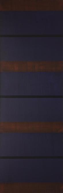 """27-X-17, 2017 Acrylic on canvas, 81 x 27"""""""