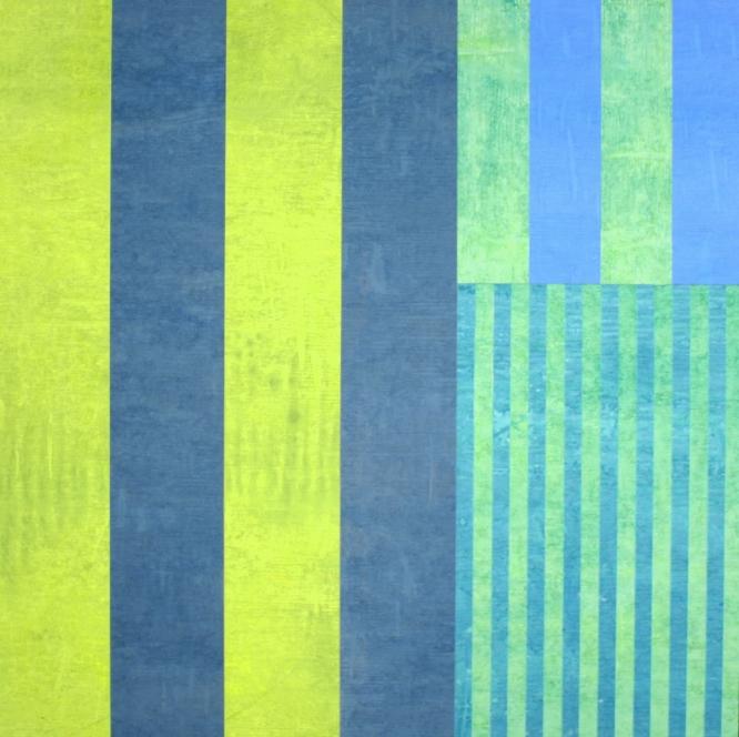 BLUE GREEN (FIBONACCI) 2004
