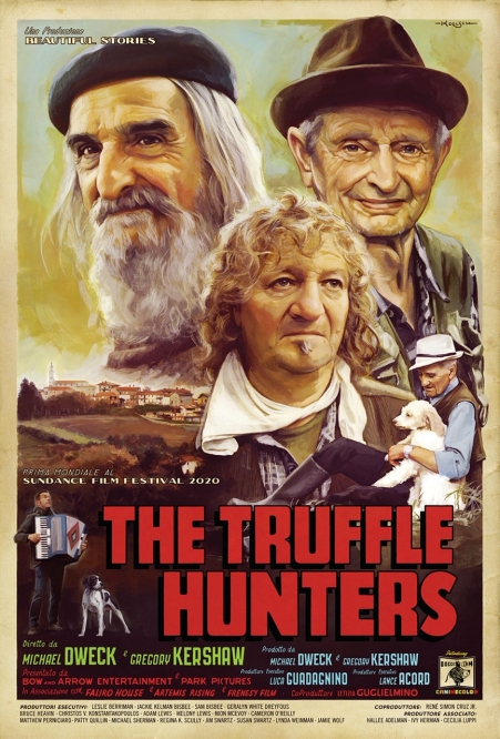 The Truffle Hunters - Sundance World Premiere Poster