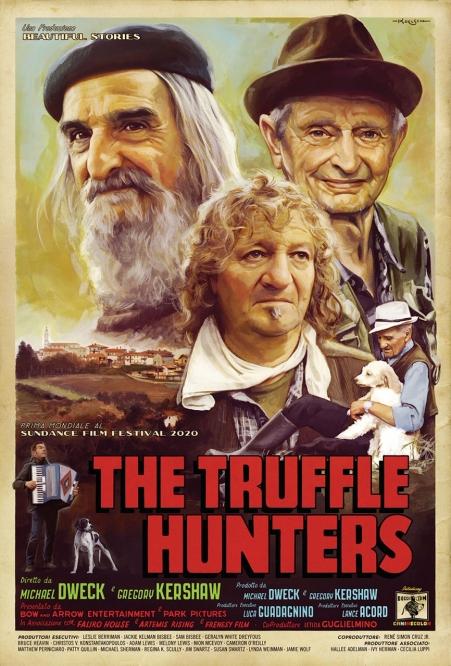 The Truffle Hunters - Sundance World Premiere Poster