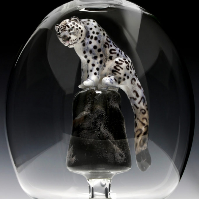 Snow Leopard Bottle