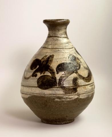 Buncheong Wine Bottle