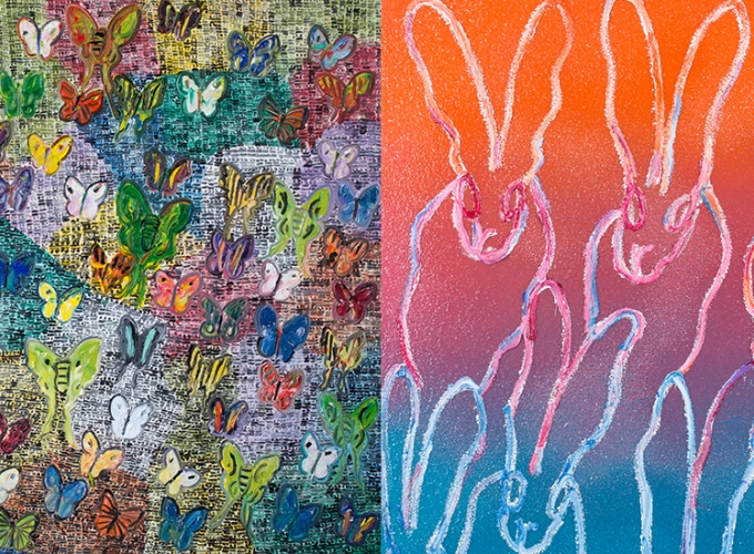 HUNT SLONEM: A Spring Affair