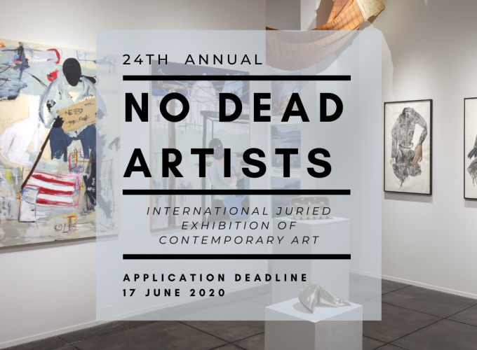 24TH ANNUAL NO DEAD ARTISTS