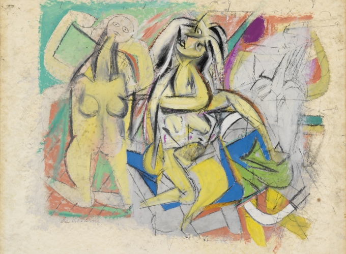 Willem de Kooning: Men and Women: 1938-48