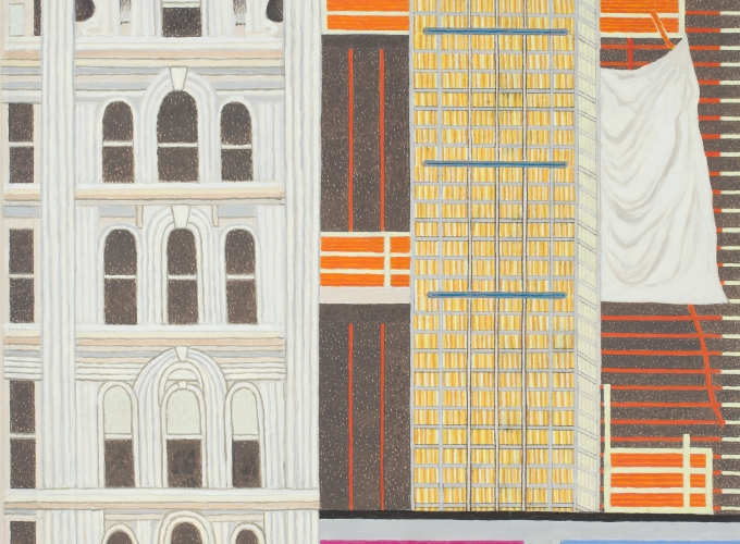 Yvonne Jacquette: Daytime New York