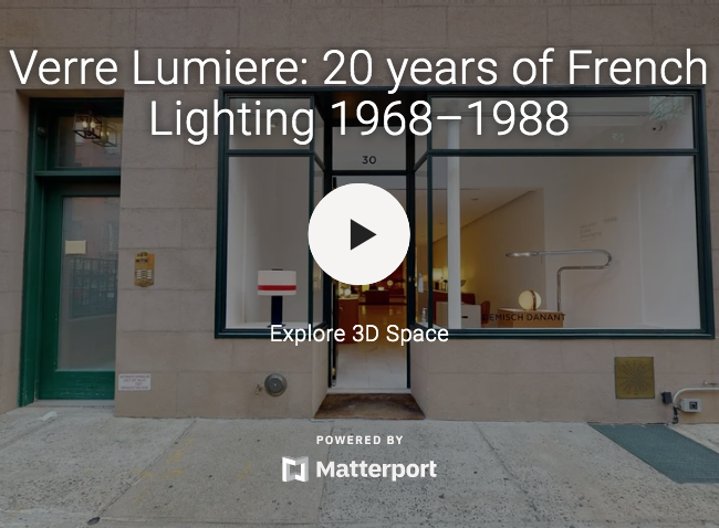 Verre Lumiere: 20 years of French Lighting 1968–1988