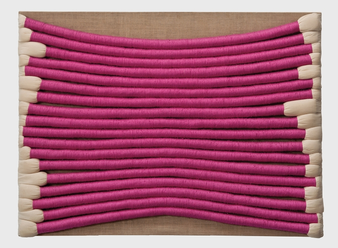 "Sheila Hicks exhibits ""Free Threads"""