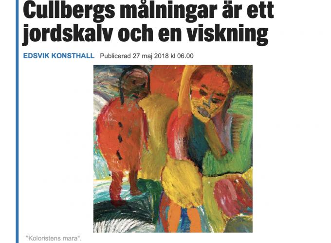 Erland Cullberg / Edsvik Konsthall
