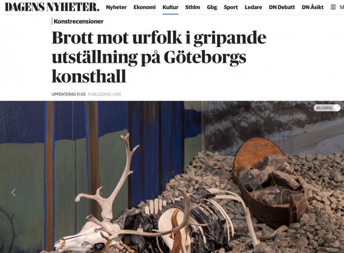 Anders Sunna / Göteborgs Konsthall