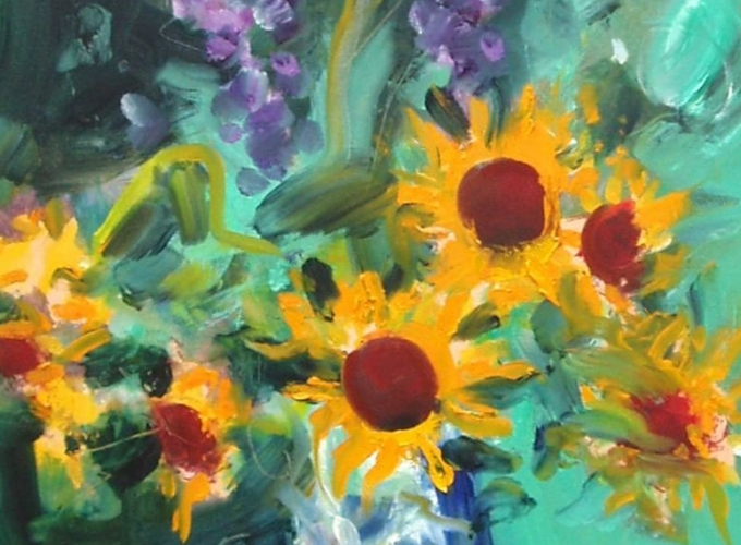 Paul Resika: Flowers
