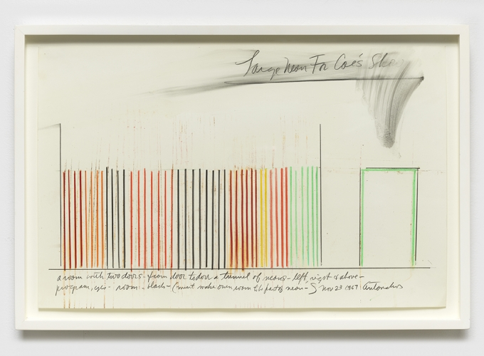 Stephen Antonakos: Project Drawings, 1967-73
