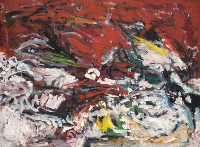 Gene Davis Untitled 1954
