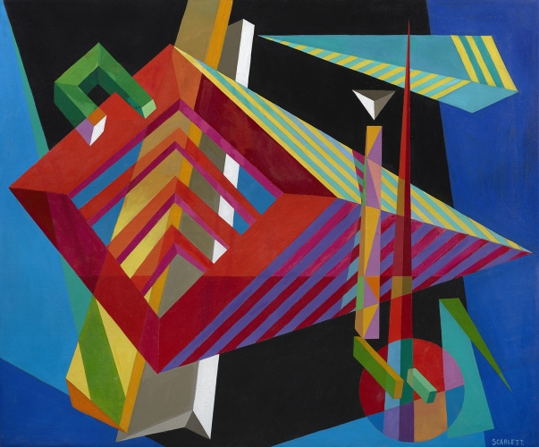 Stimulating Rhythms: Rolph Scarlett - Paintings and Jewelry