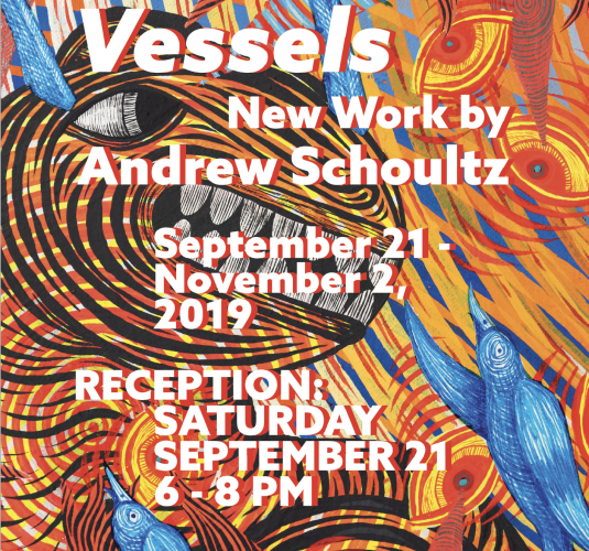 Vessels - New Work By ANDREW SCHOULTZ
