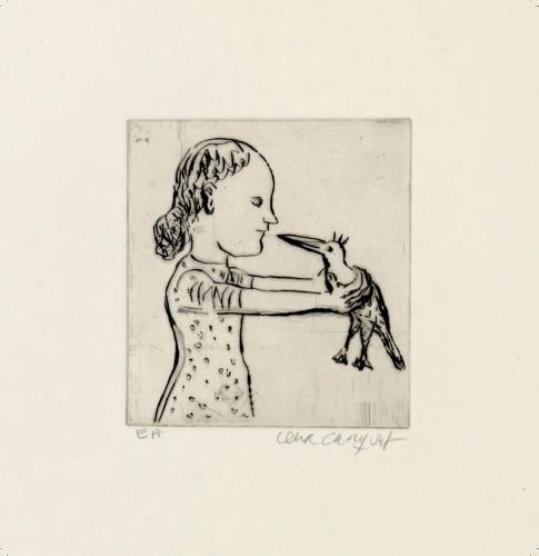 Lena Cronqvist | Sculptures and Etchings