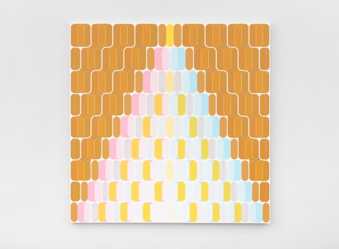 Dan Walsh Vent, 2021 acrylic on canvas 70 x 70 in. (177.8 x 177.8 cm)