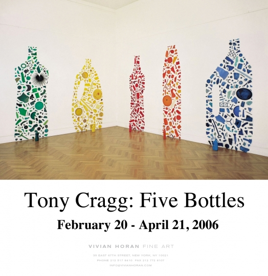 Tony Cragg: Five Bottles