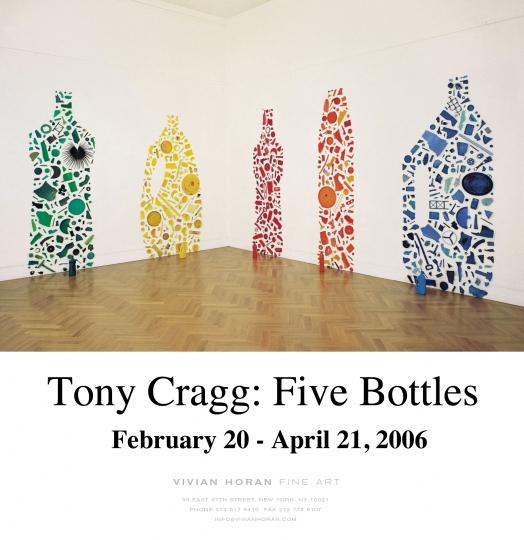 Tony Cragg: Five Bottles