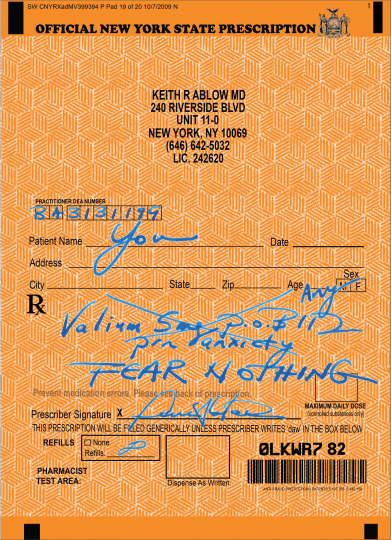 Dr. Keith Ablow / Psycho-delic
