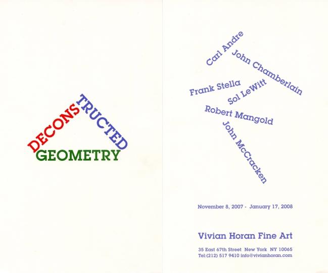 Deconstructed Geometry