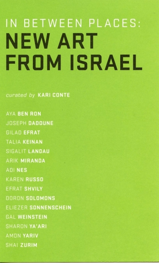 In Between Places: New Art from Israel