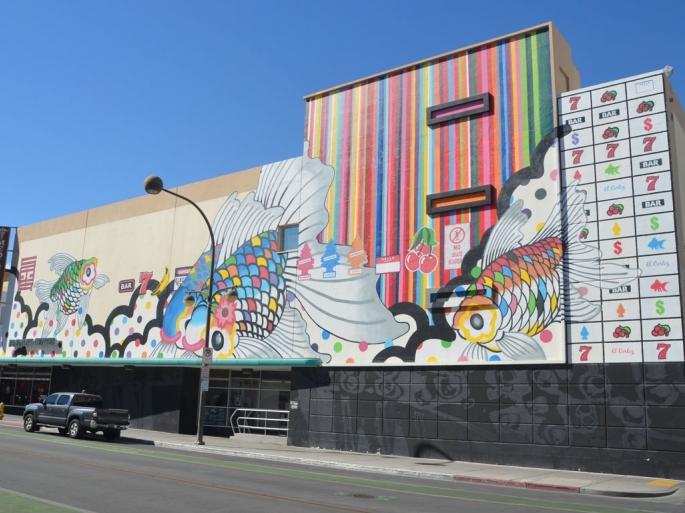 """Life is Beautiful"" Festival Mural"