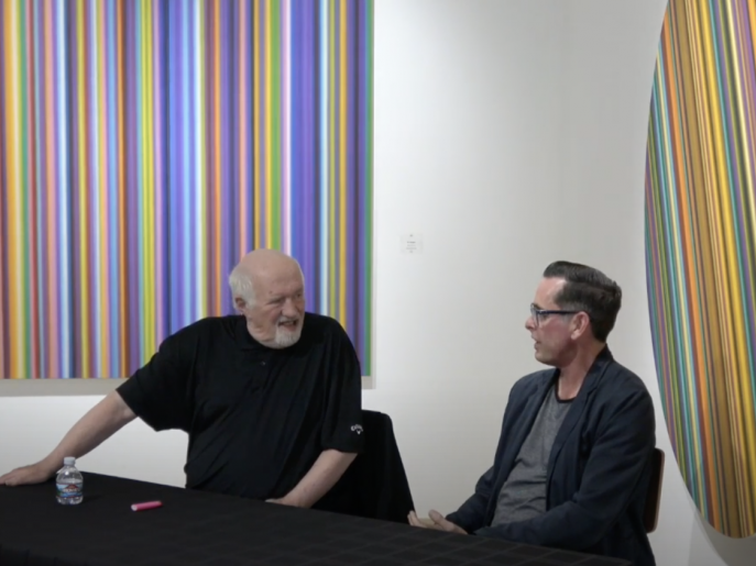 Gallery talk with Dave Hickey
