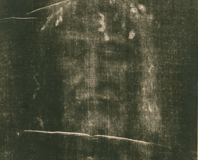 Giuseppe ENRIE (Italian, 1886-1961) Detail of the Shroud of Turin, May 1931 Gelatin silver print