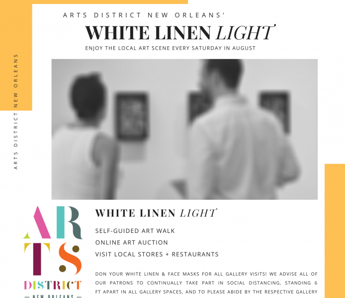 WHITE LINEN LIGHT